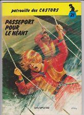 MITACQ LA PATROUILLE DES CASTORS EO N° 21 1979 PASSEPORT POUR LE NEANT