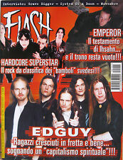 FLASH 155 2001 Edguy Hardcore Superstar Emperor System Of A Down Grave Digger