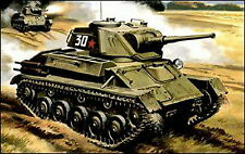UM 307 T-80 Soviet light tank 1/72 plastic model kit