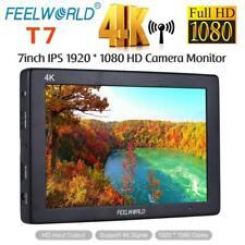"""Feelworld F7 7"""" 4K UHD IPS 1920X1200 Full HD On-Camera Field Video Monitor 2019"""