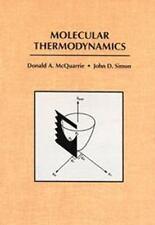 Molecular Thermodynamics, John D. Simon, Donald A. McQuarrie, Acceptable Book