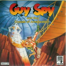 Guy Spy and the Crystals of Armageddon PC Dos IBM Game 1993