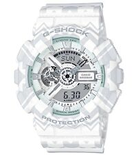 Casio G Shock * GA110TP-7A Anadigi Gshock Watch Tribal Pattern White COD PayPal