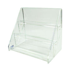 Acrylic 3 Tiered 300mm Greeting Card Display Stand (DS43/300)