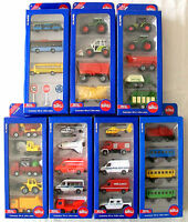 SIKU SUPER Gift Set - Miniature Diecast Vehicles with Plastic Parts - Menu Pick