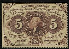 """1862 5 Cents Fractional Currency Note """"XF"""" *Free S/H After 1st Item*"""