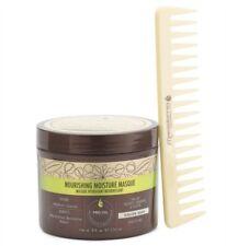 MACADAMIA Nourishing Moisture Masque 8oz + Oil-infused Detangling Comb Set NEW