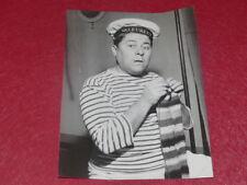 FUNDS GERMAINE ROGER VINTAGE PHOTO CHEVALIER DU CIEL L. MARIANO FR. WHITE 1955