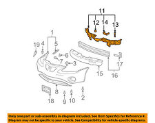 Pontiac GM OEM 04-08 Grand Prix-Bumper Mount Bracket Support Kit 10381173