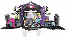 MONSTER HIGH Mega Blocks GRAVEYARD Lego-type Medium Building Set Age 6-10 Yrs