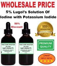 2 x 2.2 Oz Lugol's Solution of Iodine 5% with Potassium Iodide