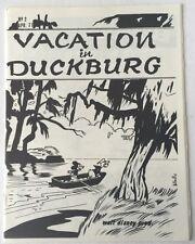 Vacation In Duckburg # 2 1971 Disney Fanzine