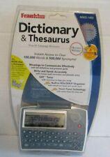 New Franklin Dictionary Thesaurus Organizer MWD-1450 Sealed