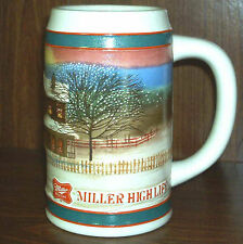 Miller High Life Holiday Stein