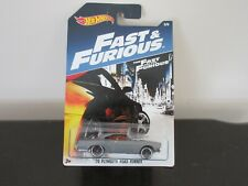 Hot Wheels Fast and Furious 70 Plymouth Road Runner