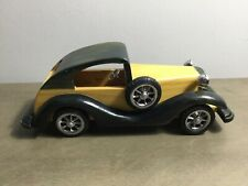 Wooden Car collectable, office decoration, 10 inches long