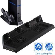 Per PS4 pro Console Esterna USB Hub + Super Turbo Ventola di Raffreddamento