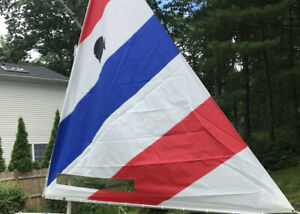 New Sunfish Sailboat Sail With Safety Window and Sunfish Utility Bag