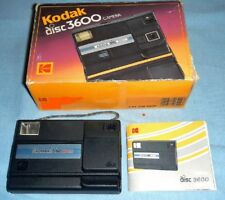 Kodak 3600 diskkamera-Durchsichtsucher,Fixfokus ,Programmautomatik,Blitz mit OVP