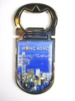 Hongkong Skyline Magnet Flaschenöffner China Souvenir Bottle Opener,Neu