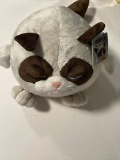 "Ganz Grumpy Cat Plush Ball - 10"" - By Ganz New"