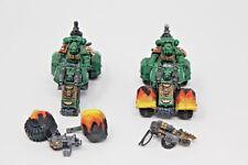 Warhammer Space Marine Attack Bikes well painted