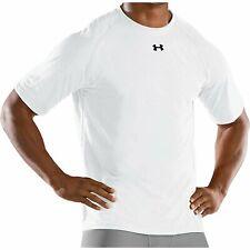 Under Armour Men's Locker Shortsleeve T-Shirt White Size Small