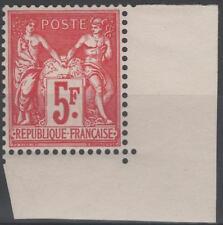 "FRANCE  N° 216 ""  EXPO PHILATELIQUE PARIS 1925 5F SAGE CARMIN"" NEUF xx TTB K186"