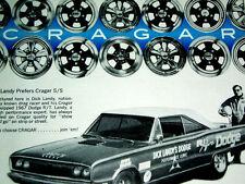 1967 DODGE CORONET R/T CRAGAR SS WHEEL AD-DICK LANDY/Mags/rims/GT/SST/15x6-15x7