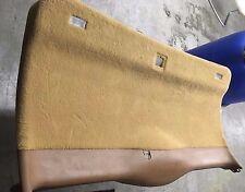 PORSCHE  Cayenne 955 2003-09  Rear Hatch interior carpeted back panel  TAN
