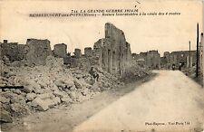 CPA La Grande Guerre 1914-16 Rembercourt-aux-Pots (Meuse)-Ruines ... (178533)