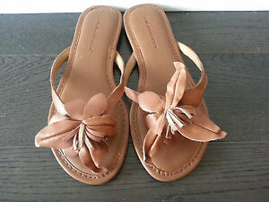 NWOB Banana Republic Leather Sandals