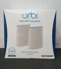 Orbi Home WiFi System AC3000 Tri-Band WiFi RBK50 NETGEAR BRAND NEW SEALED 6359