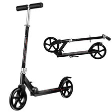 Folding Kick Scooter for Adults Teens Height Adjustable Scooter Max Load 330lbs