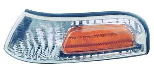 Parking / Side Marker Light Assembly Left Maxzone fits 1998 Ford Crown Victoria