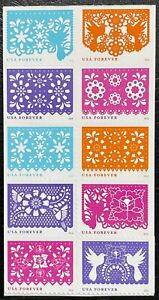 2016 #5081-90 - Forever - CELEBRATIONS - Booklet Block of 10 - MNH - Remounted