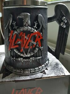 SLAYER EAGLE TANKARD OFFICIALLY LICENSED BY NEMESIS NOW 14.5CM NEW IN BOX