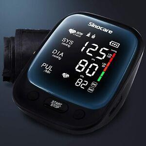 Blood Pressure Monitor Large Cuff Upper Arm Heart Rate Monitor BP Machine
