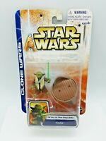Star Wars Clone Wars Yoda Jedi AOTC Sealed action figure  912