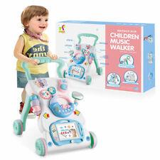 Musik Lauflernhilfe Gehfrei laufen lernen Baby Walker Lauflernwagen Spielzeug