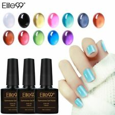 Elite99 Gemstone Nail Gel Polish Translucent Candy Color Nail Polish Varnish HOT