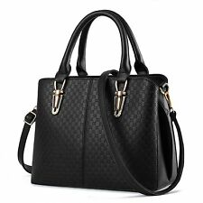 Women Vintage Leather Handbag Shoulder Ladies Purse Messenger Crossbody Tote Bag