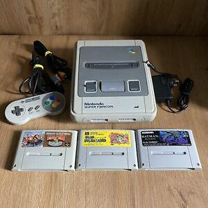 Nintendo Super Famicom Console & Mario DK Game Bundle - Japan JPN - Working