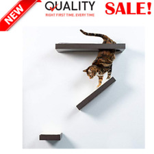 Cat Activity Wall Shelves Single Small Shelf. Sisal Surfaces for cat Scratching