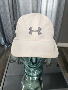 Under Armour Womens Cold Black White Adjustable Athletic Hat Cap strapback