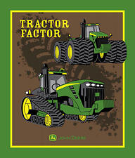 "35"" JOHN DEERE TRACTOR FACTOR BARNYARD PANEL SPRING CREATIVE 100% COTTON FABRIC"