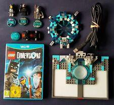Wii U Juego-dimensiones Starter Pack con Batman de Lego gandalf Wyldstyle 71174