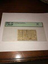 Rare North Carolina Colonial Currency December, 1771. 2s/6d, NC-136a. PCGS VF20