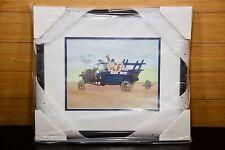 "Walt Disney Sericel ""Goofy Moving Day"" 12K2G0F050 Box New Mint Framed CoA LE"