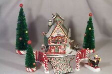 SWEET ROCK CANDY CO. Department 56 North Pole Series 2000 Gift Set, RETIRED!